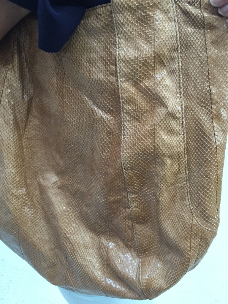 $420 Snake Skin Beirn Purse found for $2