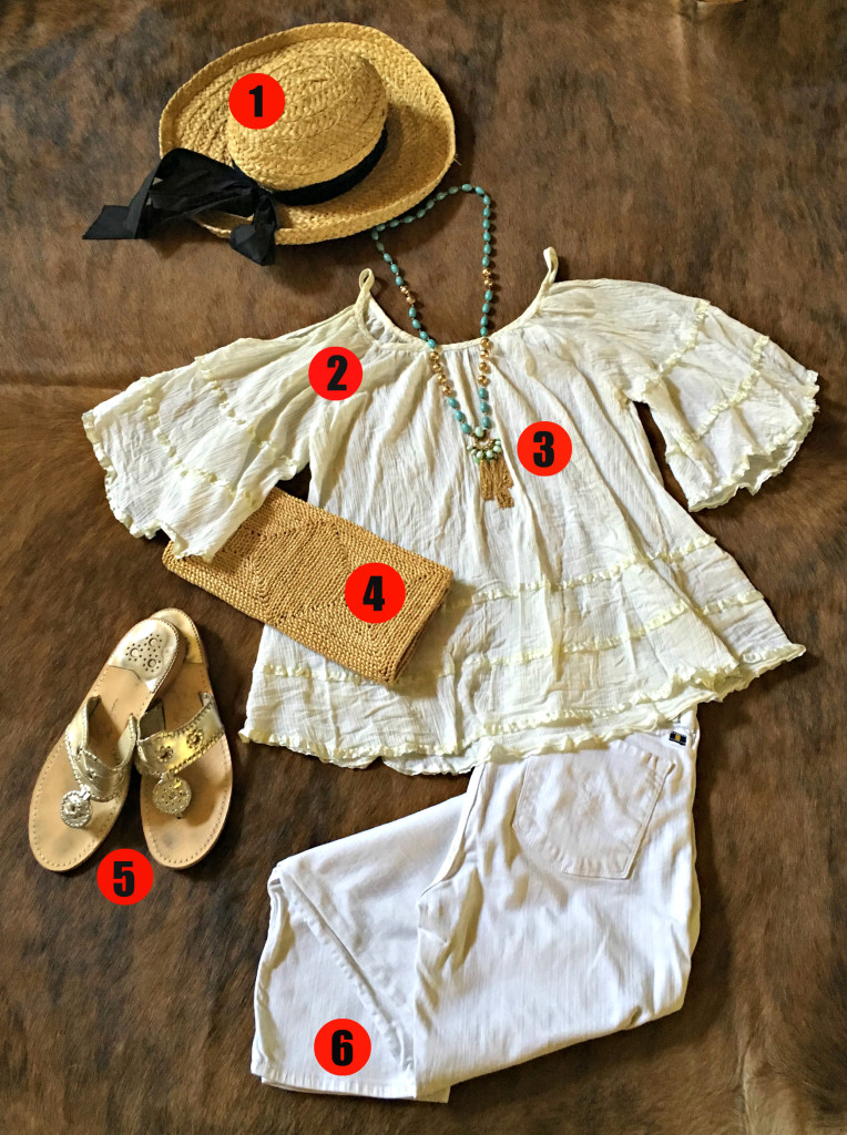 Mexico Vacation Summer Style on a Budget ~ Shopping at a Thrift Store