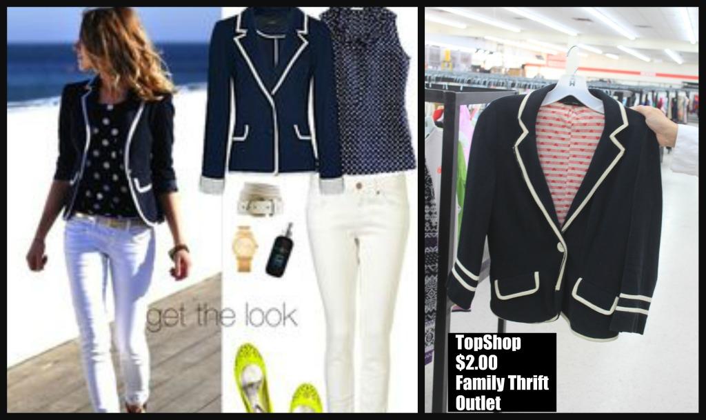 Too Cheap Tuesdays … Equestrian Jacket, Down Puffer, Top Shop, ST JOHN