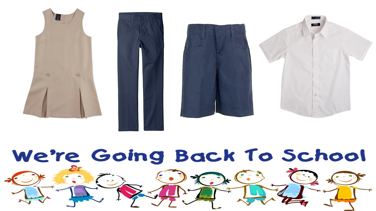 FIND GREAT DEALS ON BACK TO SCHOOL CLOTHES AND UNIFORMS AT FTC!!
