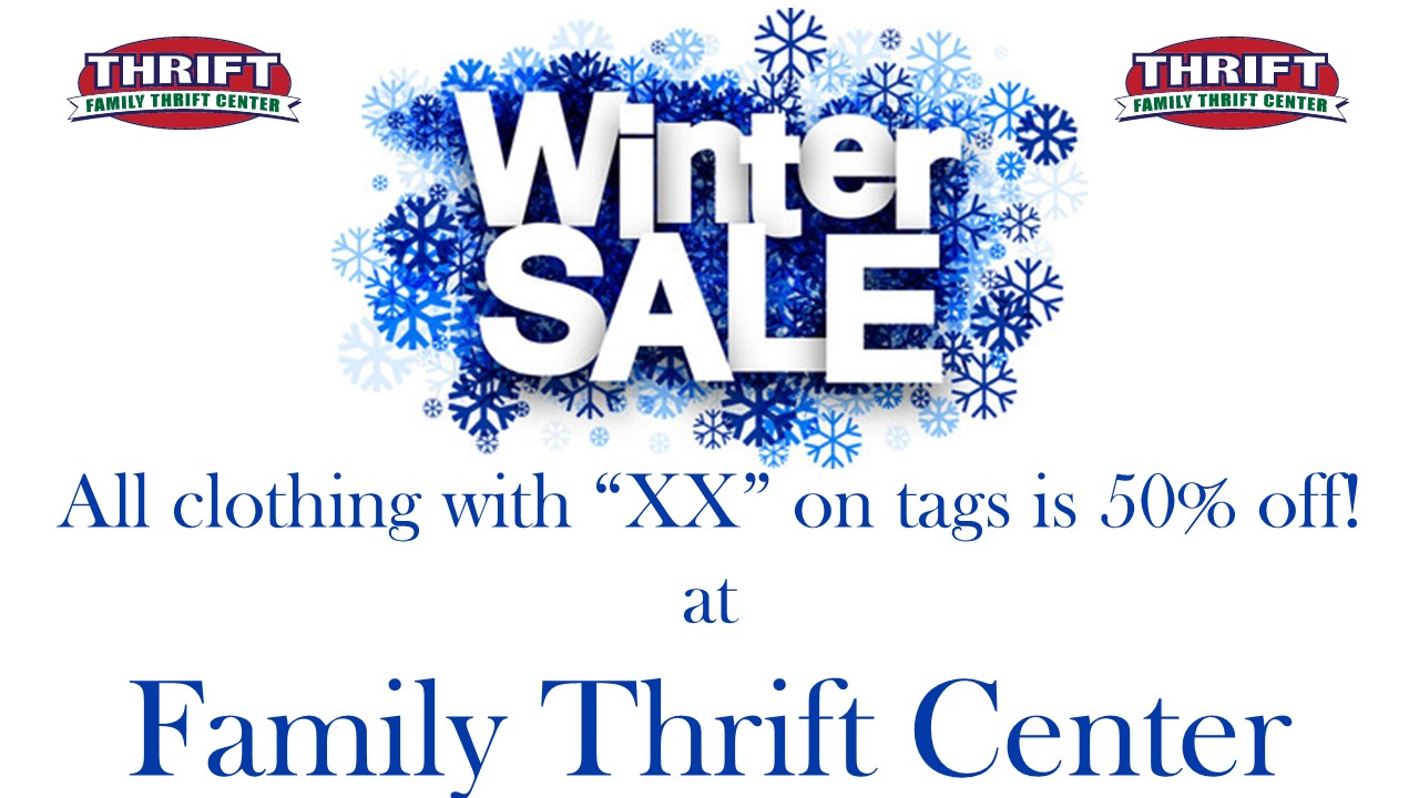 50% off Winter Sale is here!
