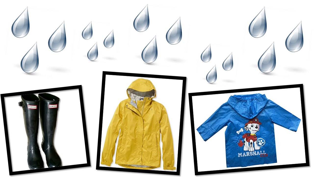 Stay dry with FTC!!